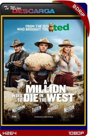 A Million Ways to Die in the West (2014) (UNRATED) [BRrip~1080p] [x264] [Dual]