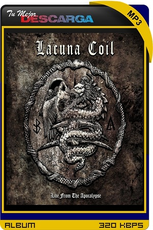 Lacuna Coil - Live From The Apocalypse (2021) [320kbps]